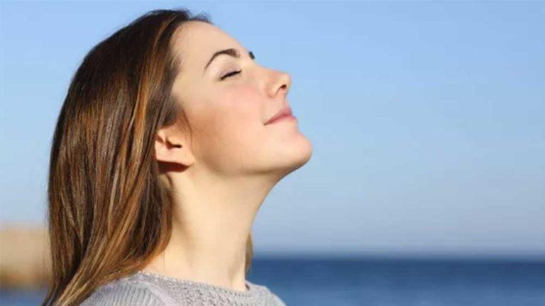 汗を抑えるには?自律神経をコントロールする深い呼吸法が解決!